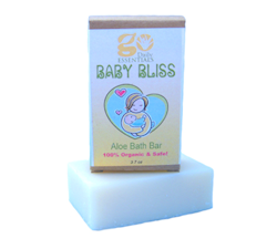 GO Baby Bliss Aloe Bath Bar