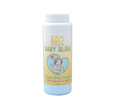 GO Baby Bliss Organic Baby Powder